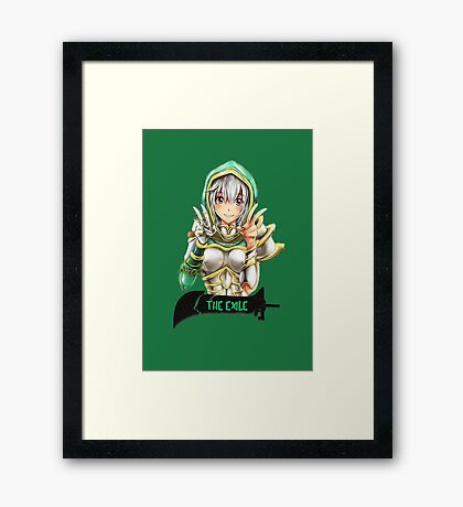 The Exile Framed Print