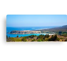 Coast Outside La Serena Chile Canvas Print