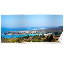 Coast Outside La Serena Chile Poster