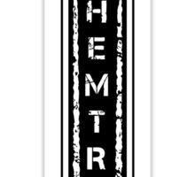 Chemtrails [black] Sticker