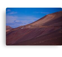 Wadi in the Atacama Canvas Print