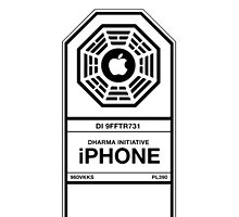 Lost Dharma Initiative iPhone Case by jacobparr