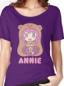Annie chibi Women's Relaxed Fit T-Shirt
