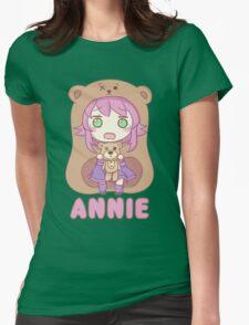 Annie chibi Womens Fitted T-Shirt