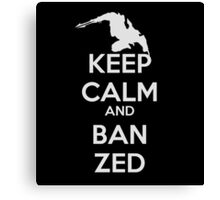 Zed LoL Canvas Print
