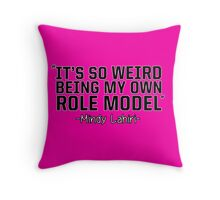 My Role Model Throw Pillow