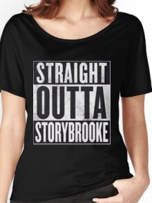Straight Outta Storybrooke Women's Relaxed Fit T-Shirt