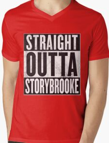 Straight Outta Storybrooke Mens V-Neck T-Shirt