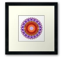 Majesty Mandala Art by Sharon Cummings Framed Print