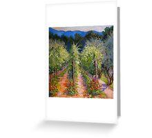 Vineyard Rose  Greeting Card
