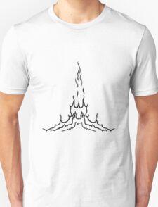 Feuer flamme Vogel formation  Unisex T-Shirt