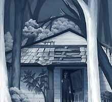 A House In the Woods by Upoyk