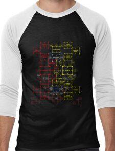 The Machine in Progress version 5.13 Final Version  Men's Baseball ¾ T-Shirt