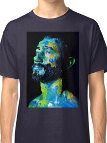 Colourful expressive portrait painting Classic T-Shirt