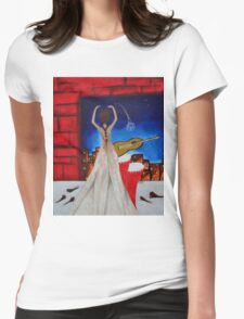 Love To Dance 002  Womens Fitted T-Shirt