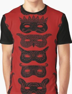 Masks Graphic T-Shirt