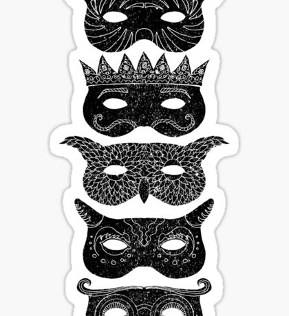 Masks Sticker