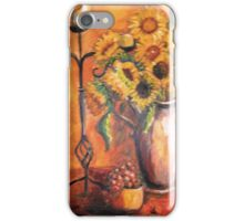 Sunflowers & Candles iPhone Case/Skin