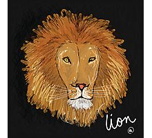 Lion Photographic Print