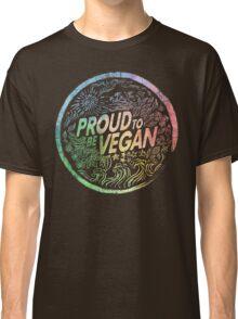Proud to be Vegan - Rainbow Classic T-Shirt