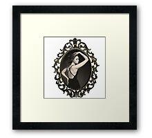 Karen Gillan Frame Framed Print