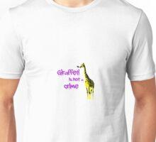 Giraffeti is not a crime Unisex T-Shirt