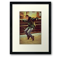 Joey Jackson Framed Print