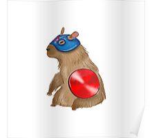 Captain Capybara Poster