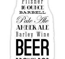 Beer--Benjamin Franklin Sticker