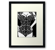 Corset Project 2 Framed Print