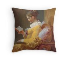 Fine Art on Your Arm Throw Pillow