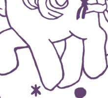 ponies forever! Sticker