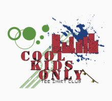Cool Kids Only tee shirt club Kids Clothes
