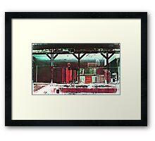 Old Mops at Building 12 Framed Print