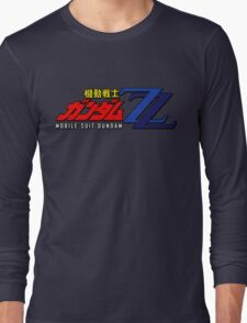 Mobile Suit Gundam ZZ - Logo Long Sleeve T-Shirt