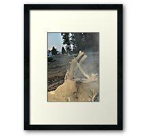 The Life Of The Tree Remains Framed Print
