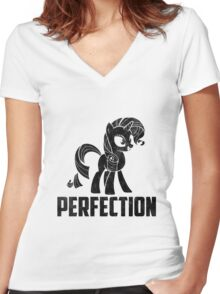 Rarity - Perfection Women's Fitted V-Neck T-Shirt