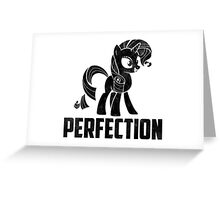 Rarity - Perfection Greeting Card