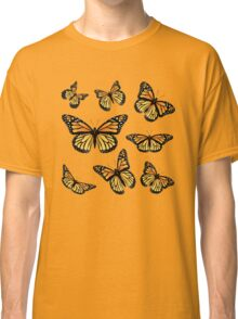 Orange Monarch Butterfly Classic T-Shirt