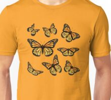 Orange Monarch Butterfly Unisex T-Shirt