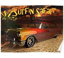 56' Surfin Safari Poster