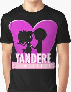 Yandere Simulator - Yandere Love Print Graphic T-Shirt