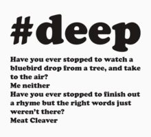 Bo Burnham - #deep - meat cleaver by NotReally