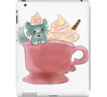 Vanilla Sprinkles Kitten  iPad Case/Skin