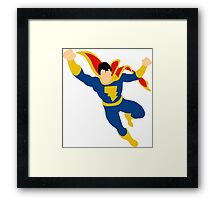 Captain Marvel Jr. Framed Print