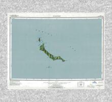 USGS TOPO Map Alaska AK St Matthew 361381 1951 250000 One Piece - Short Sleeve
