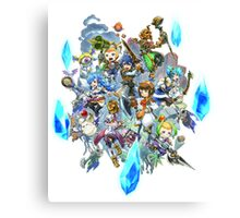 Final Fantasy Crystal Chronicles Canvas Print