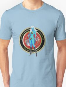 Andorian Girl - United Federation of Planets Unisex T-Shirt