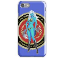 Andorian Girl - United Federation of Planets iPhone Case/Skin