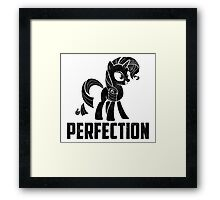 Rarity - Perfection Framed Print